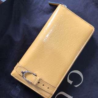 Gucci yellow wallet