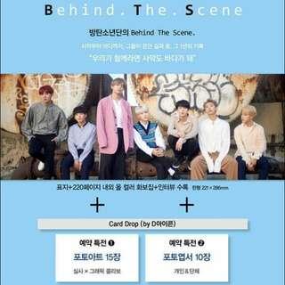 [Magazine] D-icon : Vol.2 BTS Behind the scene (2018)