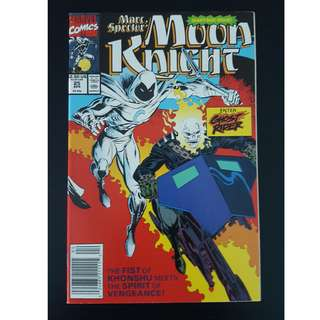Moon Knight #25 (1989) Double-sized Milestone issue! (Guest-starring Ghostrider)
