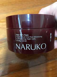 Naruko Pore Raw Job's Tears Minimising & Brigtening Night Jelly