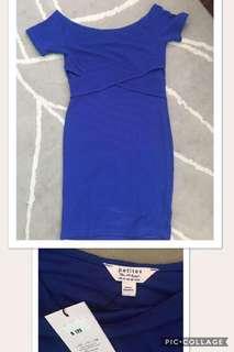offshoulder Body-con Short Dress