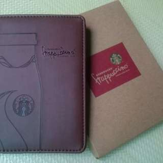 星巴克 護照夾