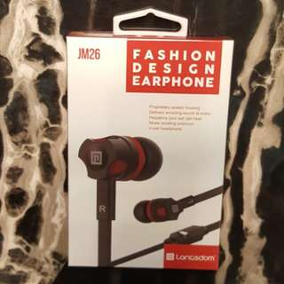 BNIB Langsdom JM26 Earphone