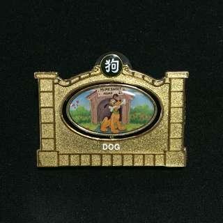 上海 迪士尼 狗年 徽章