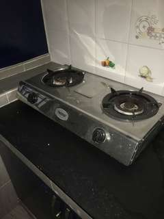 2 burner Gas Cooker