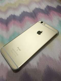 iPhone 6s plus 64 GB 97% new 土豪金色 gold