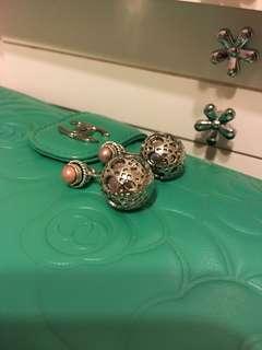 純分享~dior black pearl mix with Indonesia handmade rose pearl