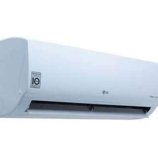 LG AC 1pk inverter, bisa cicilan bebas uang muka