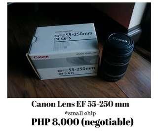 Canon Lens EF 55-250mm