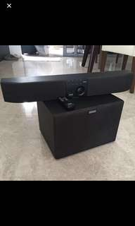 Altec Lansing digital audio surround system