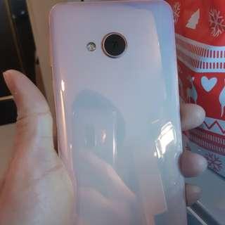 HTC U PLAY 64G 粉色 電池全新