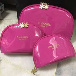 Chanel beaute pouch