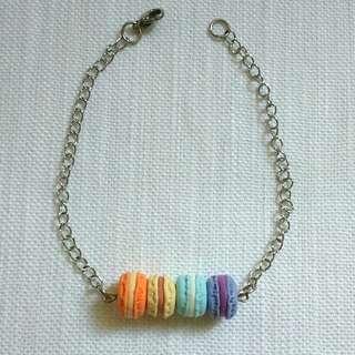 Handmade Clay Macaron Bracelet