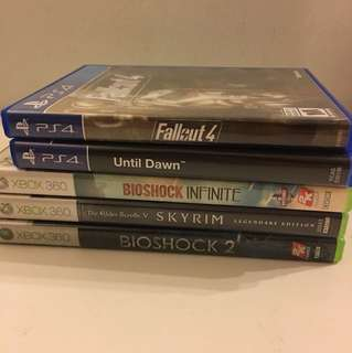 Xbox 360 & PS4 for SALE!