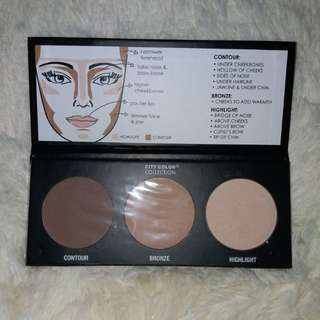 city colour collection contour palette 2