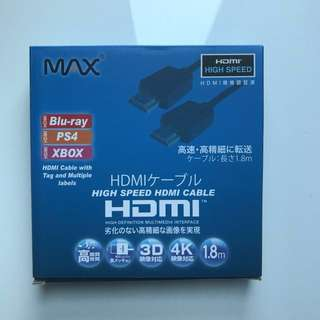 HDMI cable 日本牌子