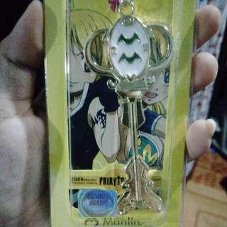 Comic Alley Fairy Tail Aquarius Clip Keychain