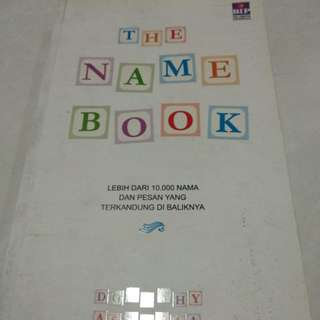 buku nama bayi the name book
