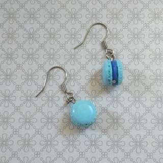 Handmade Clay Macaron Earrings