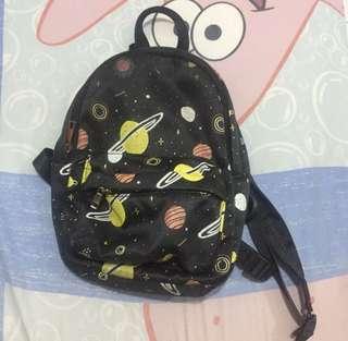 Stradivarius mini bagpack planet