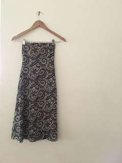 Strapless dress size XS-S