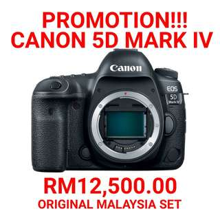 BRAND NEW CANON 5D MARK IV FULL FRAME DSLR BODY