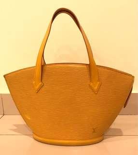 """Louis Vuitton """"Saint Jacques Epi Leather"""" Bag"""
