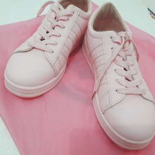 Yadas Korea Shoes (Baby Pink)