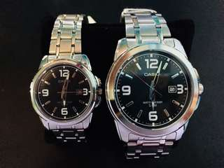 CASIO Couple Watch (pair)