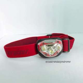 Energizer LED Headlamp with HD Vision Optics, with 3 modes