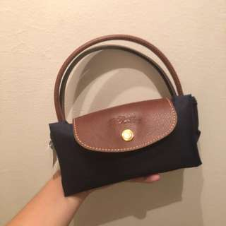 [BRAND NEW] Longchamp Le Pillage Navy Bag Small