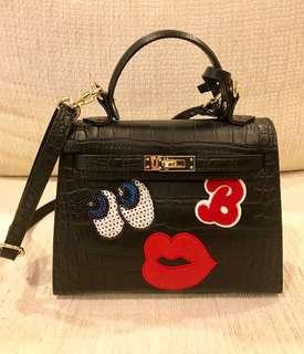 Playnomore I'm Shy Star Bag Black Handbag