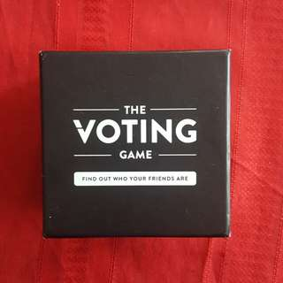 The Voting Game [Sealed]