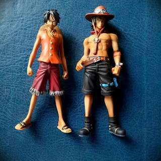 Monkey D. Luffy and Portgas D. Ace Anime Character Action Figure
