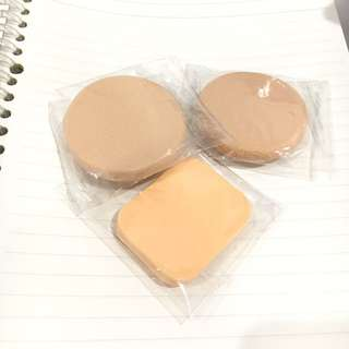 Makeup sponges for foundation BBCC cream concealer shiseido