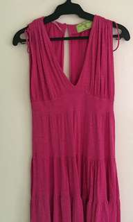 REPRICED! Zara fuchsia Dress