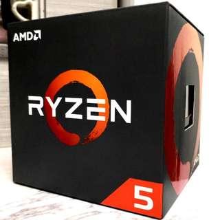 正貨AMD. Ryzen R5 1500x 4核心8線程(盒裝) AMD. Ryzen R5 1500x 4 Core 8 Thread Boxed