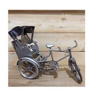 🚚 古早味 鐵製 三輪車