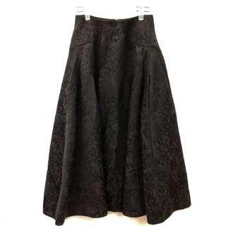 Shiatzy chen black long skirt size F38