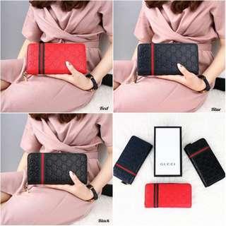 Gucci Gissele Stripe Women Wallet 1092