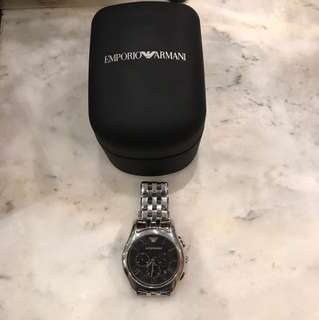 EMPORIO ARMANI CHRONO ORIGINAL MENS WATCH