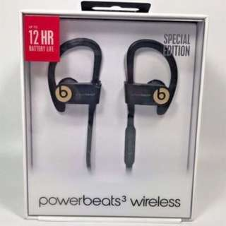 Powerbeats3 wireless gold