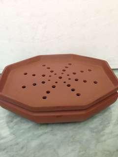紫砂茶海L28.5cm