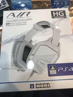HORI HG PS4 專用 Headset (二手)