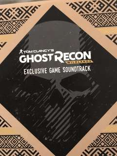 Ghost recon soundtrack cd