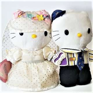 CHEAP! Hello Kitty and Dear Daniel McDonald's Collectibles ROMANTIC WEDDING