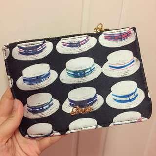 Posh 中size 花紋布銀包/散紙包