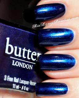 Butter London Nail Polish (Bluecoat)
