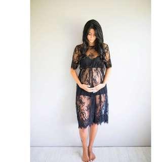 Pregnant Women Lace Dresses
