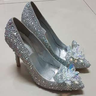 Jimmy Choo Cinderella Heels Replica